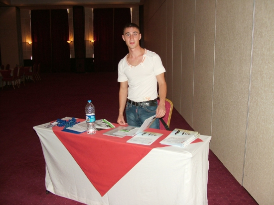 Фрейлик Денис на SSH 2013 Анталия