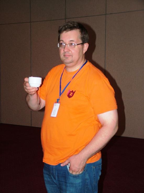 Андрей Верников на SSH 2013 Анталия