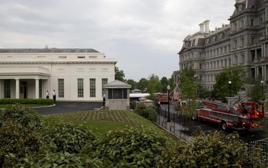 Персонал Белого дома эвакуирован