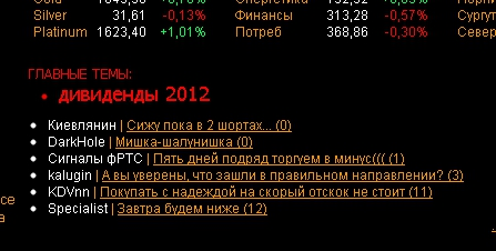 Похоже, что завтра отскок...)))
