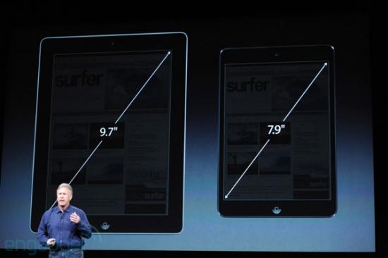 Apple представила  iPad mini.  Цена - $329