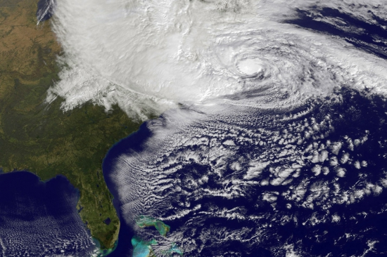 Ураган Сэнди в фотографиях...