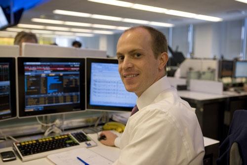 Trading floor Bloomberg Tradebook (Manhattan)