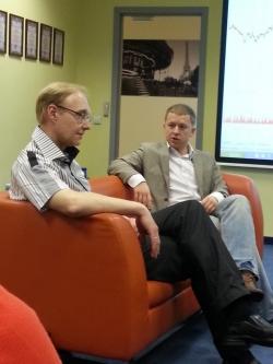 Встреча с Александром Горчаковым