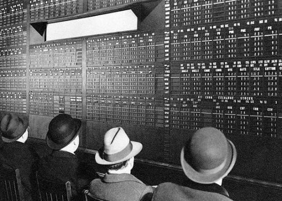 Биржевой монитор образца 1938 года