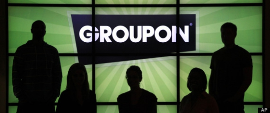 Прекрасный момент зашортить Groupon !!!