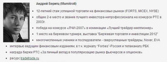 Задай свой вопрос Андрею Беритцу