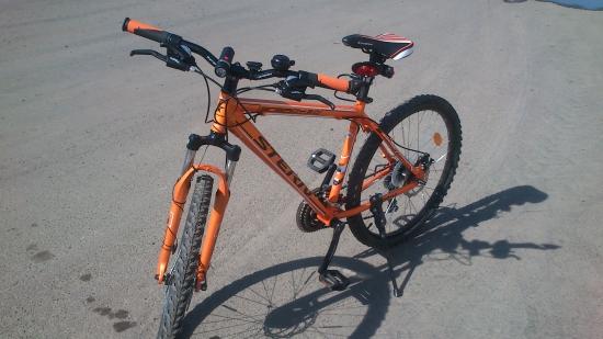 Вывел ПРИБЫЛЬ со счета за Апрель и купил Bike