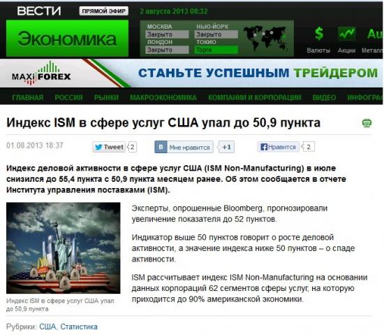 Что творится на сайте vestifinance.ru