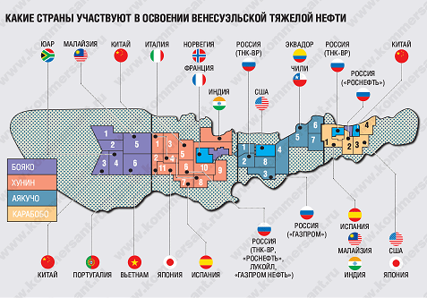 Венесуэла по-прежнему рада российским нефтяникам