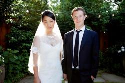 Основатель Facebook женился