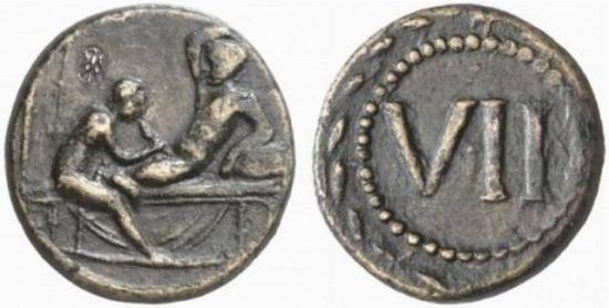 Почти трейдерский пост. :) Древнейшие монеты Рима (фото)