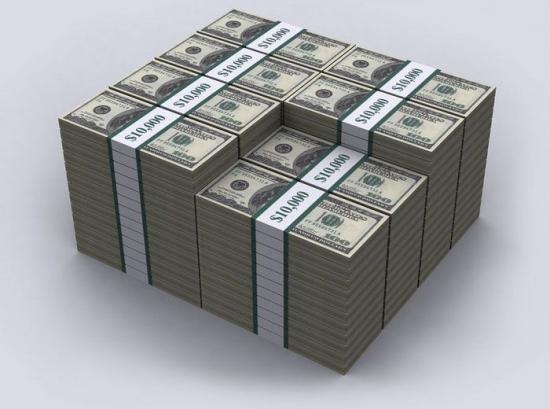 1 миллион баксов