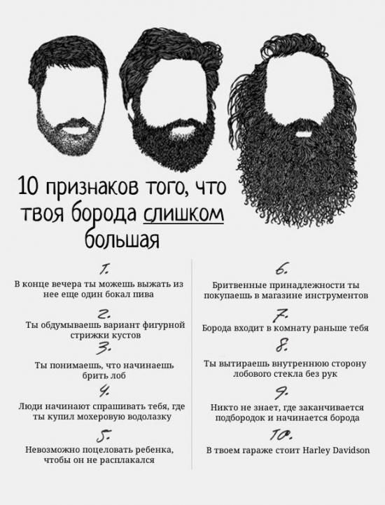Для тех кто решил отпустить бороду...или приклеить))