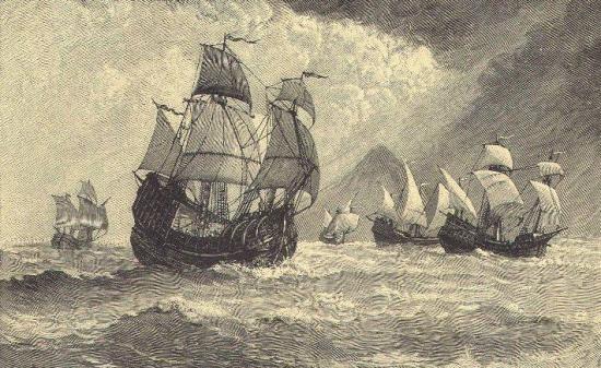 корабли маггелана