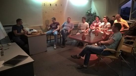 Фотоотчёт с встречи клуба трейдеров Новосибирска 02.09.2015