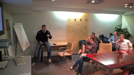 Фотоотчёт с встречи клуба трейдеров Новосибирска 30.09.2015