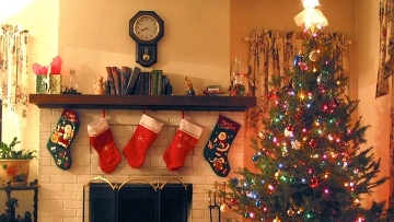 Рождество в США .