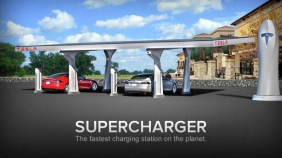 Tesla открыла первую зарядочную станцию в Швейцарии