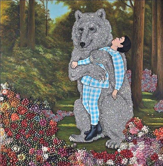 Медведь хранитель за миллион долларов! Забери себе на стену в защиту от слива=)