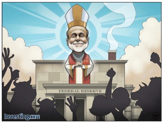 Выборы Папы в финансовом мире))
