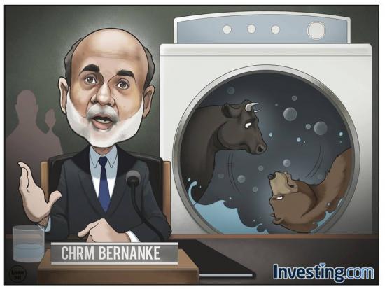 Юмор: Бернанке мутит воду с QE3