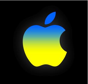 Apple - выбирает Украину