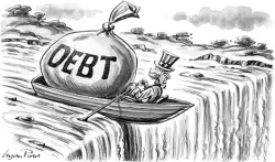 Debt will sink us all