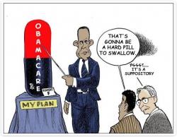 Obamacare - камень преткновения