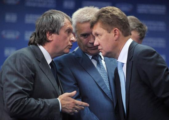 Роснефть vs Газпром.