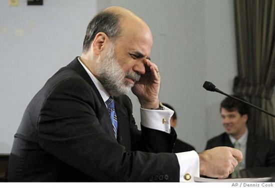 Бернанке в печали...что же я наделал....