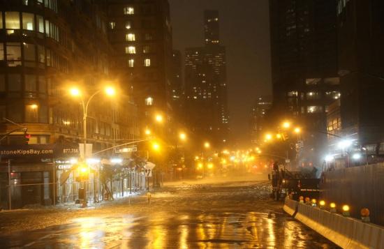 Ураган Сэнди через несколько часов обрушится на Чикаго