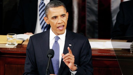 """Обама готов к компромиссам при обсуждении в Конгрессе вопроса о предотвращении """"бюджетного обрыва"""""""