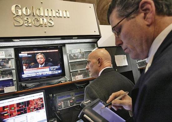 Goldman Sachs убрал акции российского фондового рынка из топ-списка.