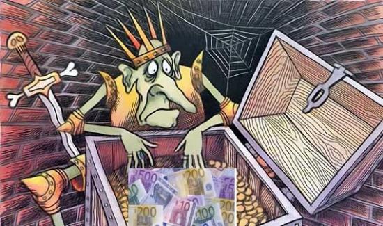 А не всё так плохо,может обернуться ситуация для Еврозоны.А ларчик просто открывался.