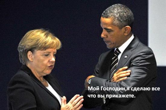 Обама обсудил с Меркель и Кэмероном новые санкции против России