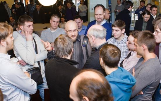 Первая часть фотографий со встречи sMart-lab в Питере