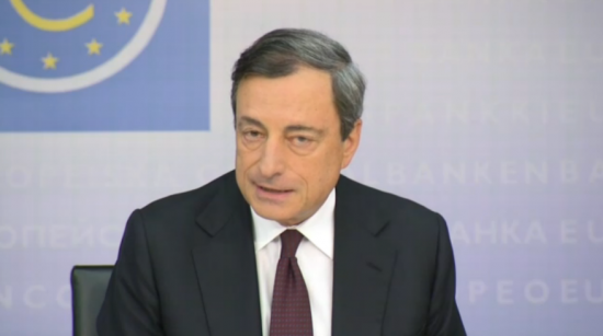 ЕЦБ: пресс-конференция Марио Драги