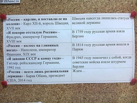 Против исторических фактов не попрёшь))