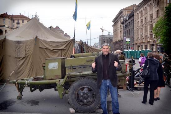 Александр Герчик в Киеве...