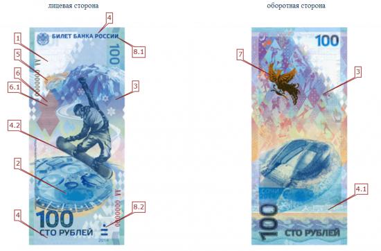 Банкнота нового образца.