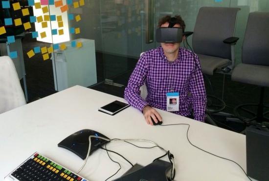 Bloomberg объединила информационный терминал с очками Oculus Rift