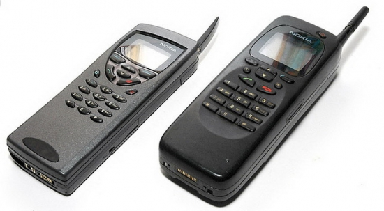 Ностальгия. Мобильные телефоны. Какая у вас была мобила??