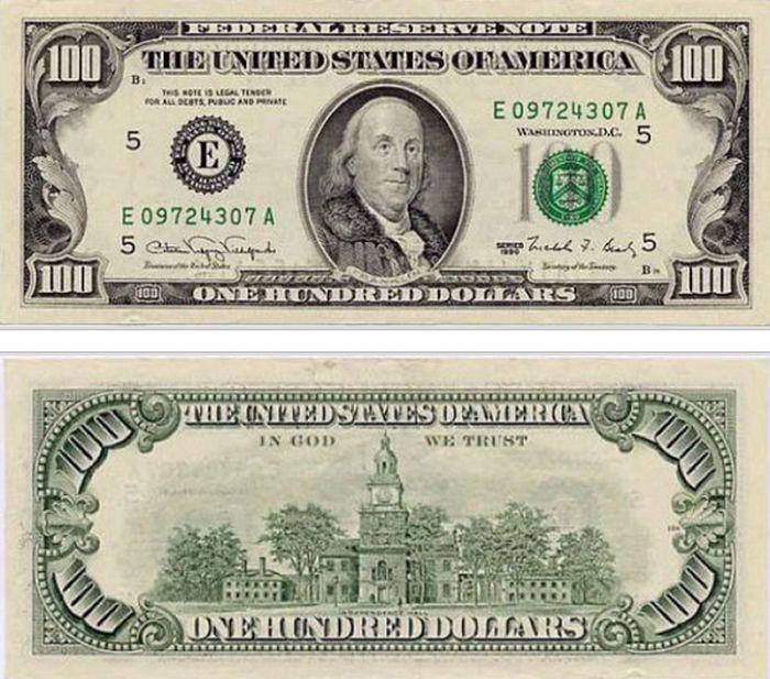 Как с годами изменялась купюра в 100 долларов / Блог им. Di-trader ...