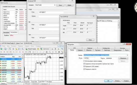 Metatrader<->MultiCharts