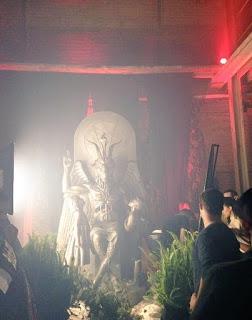 Памятник Бафомету (Сатане)