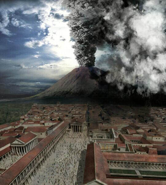 Голдман Сакс ставит на вулкан Везувий. Печать 22.