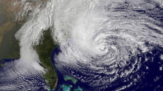 """Ураган в """"Сэнди"""" в США."""