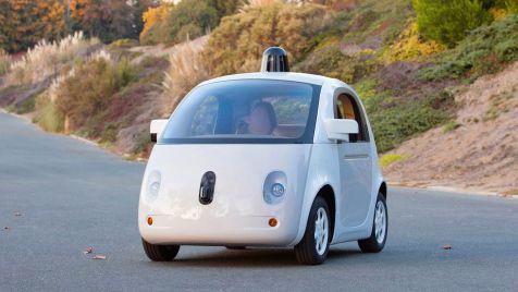 Гугломобили без водителя.