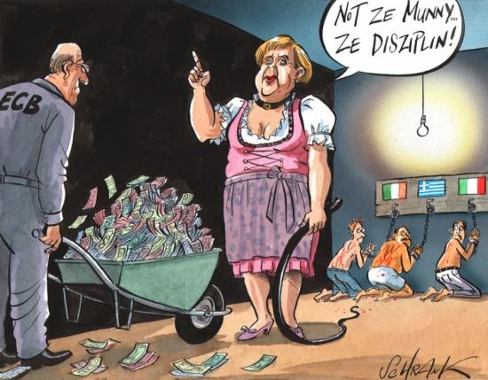 Merkel discipline